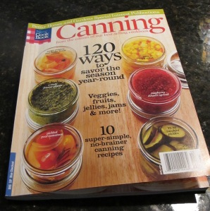 canning recipe book